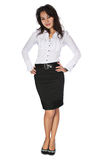 Ente completo della donna di affari Immagine Stock Libera da Diritti