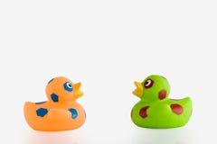 Ente des Gummis zwei Stockfotos