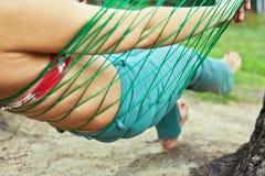 Ente femminile in amaca fotografia stock libera da diritti