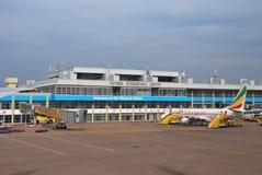 Entebbe-internationaler Flughafen Lizenzfreies Stockfoto