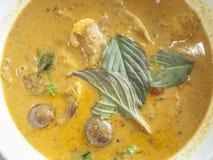 Entenbraten mit rotem Curry Stockfotos