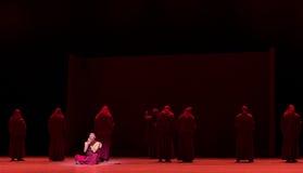 Entendiendo ` de Cangyangjiacuo de Buda- del drama de la danza `` Fotos de archivo