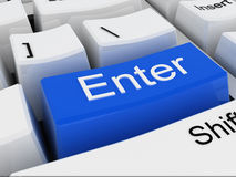 Enter Royalty Free Stock Image