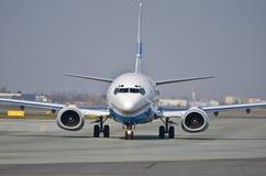 Enter Air plane Stock Photo