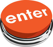 The ENTER button Stock Photography