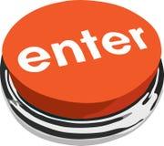 The ENTER button Stock Photography