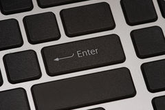 Enter button Royalty Free Stock Photography