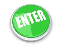 Enter Button Stock Photo