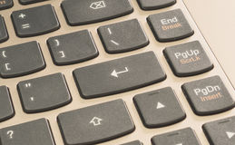 Enter button keyboard Stock Image