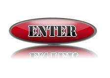 Enter Button. Stock Photo