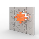 Enter concept Royalty Free Stock Image