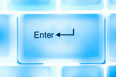Enter key Royalty Free Stock Photos