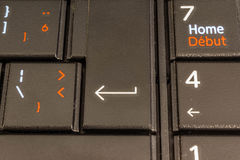 Enter key Royalty Free Stock Photography