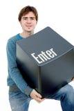Enter key Stock Images