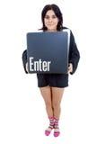Enter key Royalty Free Stock Photo