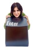 Enter key Stock Photos