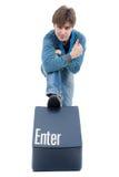 Enter key Stock Photography