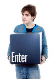 Enter key Royalty Free Stock Image