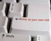 Enter Key1 Stock Photography