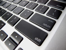 Enter / Return Key on Keyboard Stock Image