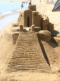 Enter the Sand Palace royalty free stock image