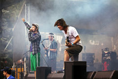 Enter Shikari on stage in Austria Royalty Free Stock Image