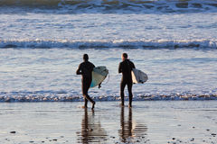 Enter Surfers Royalty Free Stock Photos