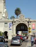 Enter to Balboa Park Stock Photography