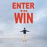 Enter to Win Royalty Free Stock Photos