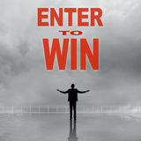 Enter to Win Royalty Free Stock Images