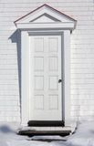 Enter the White Door Stock Images