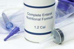 Enteral Feeding Stock Photo