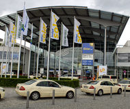 enterance 2009 Allemagne juste Munich intersolar images libres de droits