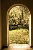 Enterance al giardino Fotografia Stock Libera da Diritti