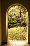 Enterance ao jardim Fotografia de Stock Royalty Free