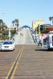 Enterance del pilastro della Santa Monica Fotografia Stock