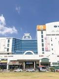 Enterance del sud della stazione della metropolitana di Bucheon immagini stock libere da diritti