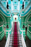 Enterance in palazzo russo Fotografia Stock Libera da Diritti