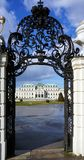Enterence into Belvedere palace Stock Photography