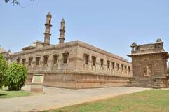 Enterence of Jami Masjid (mosque), chapaner, Gujarat Royalty Free Stock Photo