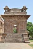 Enterence of Jami Masjid (mosque), chapaner, Gujarat Stock Photo