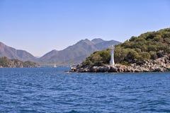 Entering the bay of Marmaris Royalty Free Stock Image
