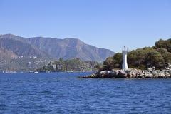 Entering the bay of Marmaris Stock Image