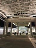 Entering Charleston International Airport Terminal.  royalty free stock photo