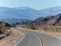 Entering Death Valley Royalty Free Stock Photos