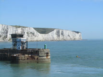 Entering the Port of Dover, England Royalty Free Stock Photo