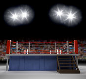 Entering the Ring Royalty Free Stock Images