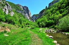 Entering Turda gorge. Royalty Free Stock Photos
