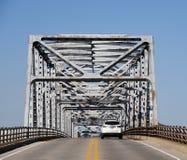 Entering Utica Bridge Royalty Free Stock Image