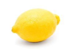 Entero del limón aislado en un beckground blanco Foto de archivo
